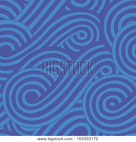 Abstract seamless background with wave for you design