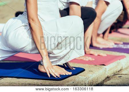 High Lunge Yoga Pose