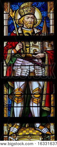 Stained Glass - Saint Wenceslaus