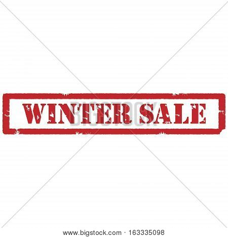 Winter Sale Stamp