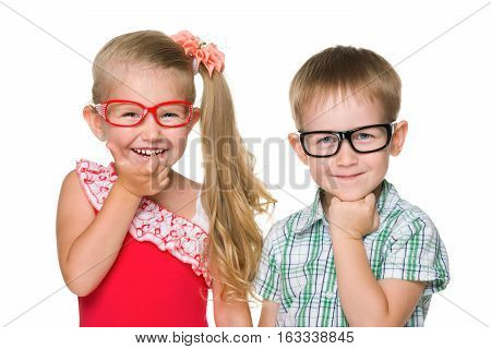 Two Happy Clever Kids