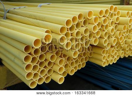PVC pipe yellow,PVC pipes for drinking water.