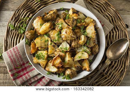 Homemade Roasted Jerusalem Artichoke Sunchokes