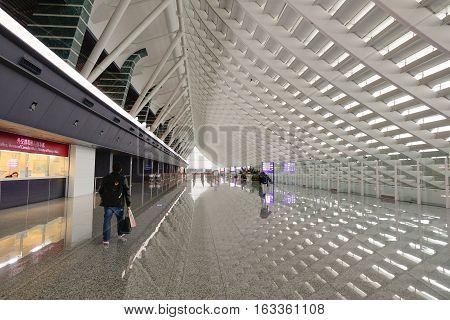 Inside Of Taoyuan Airport, Taipei, Taiwan