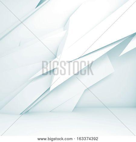 Chaotic Polygonal Decoration, 3D Render