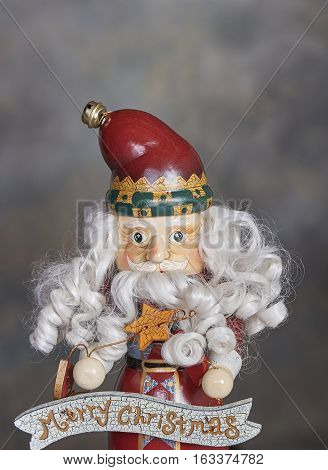 Christmas holiday season Santa Claus nutcracker ornament/decoration
