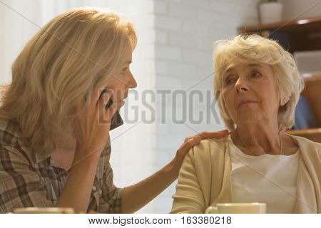 Woman Calling Doctor