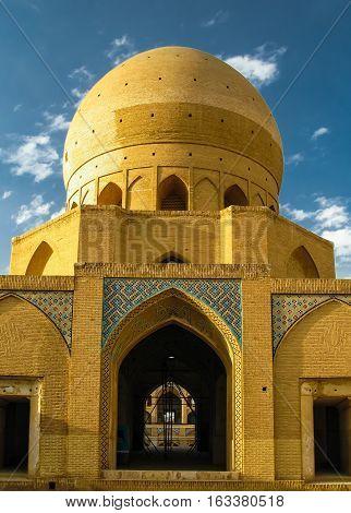 Agha Bozorg Madrasa and Mosque Kashan Iran