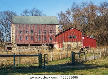 Rural Pennsylvania Barn