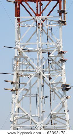 Telecom Tower Closeup.