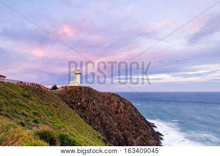 Byron Bay lighthouse on Australia's east coast