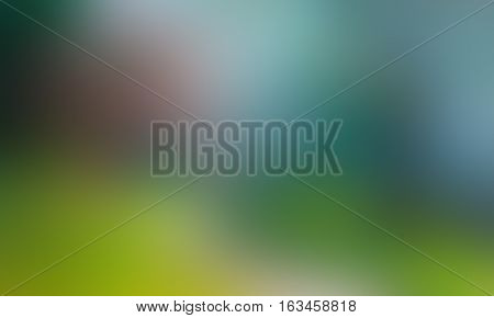 colorful green blue bright blured abstract background