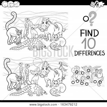Difference Activity With Animals
