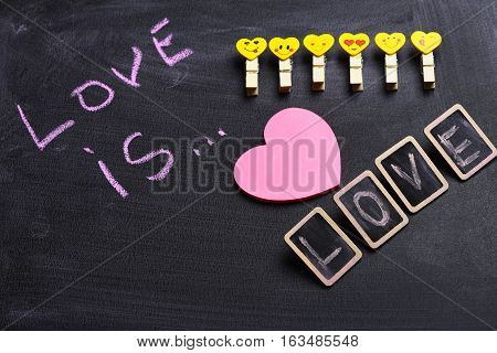 Love Is Painted By Chalk