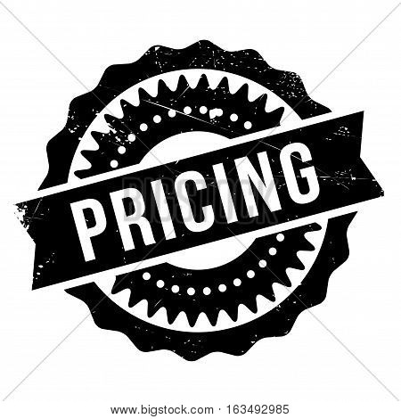 Pricing stamp. Grunge design with dust scratches. Effects can be easily removed for a clean, crisp look. Color is easily changed.