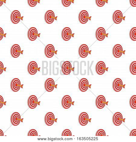 Target pattern. Cartoon illustration of target vector pattern for web