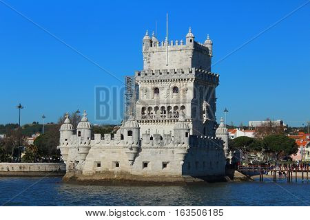 Belém's Tower, Belém's Parish, Tagus River, Lisbon, Portugal