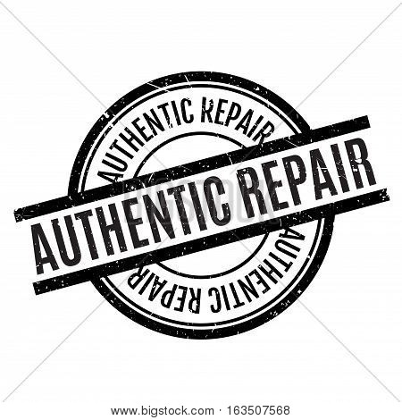 Authentic Repair rubber stamp. Grunge design with dust scratches. Effects can be easily removed for a clean, crisp look. Color is easily changed.