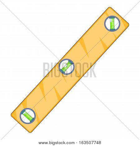 Level measurement icon. Cartoon illustration of level measurement vector icon for web design