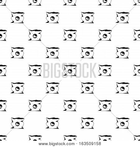 Crumpled bag of chips pattern. Simple illustration of crumpled bag of chips vector pattern for web