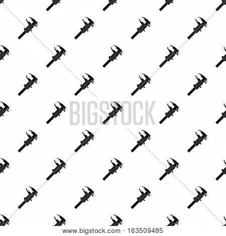 Caliper pattern. Simple illustration of caliper vector pattern for web