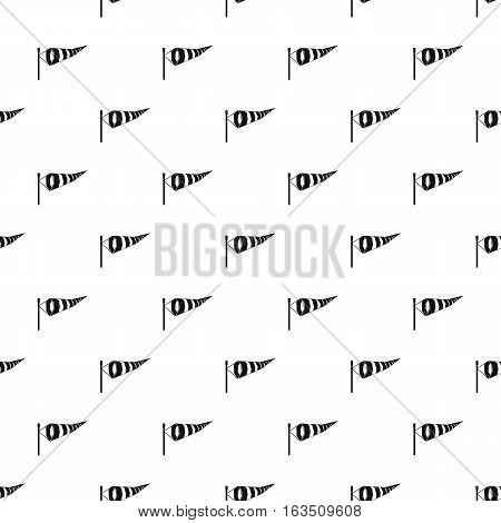 Supplies wind sock pattern. Simple illustration of supplies wind sock vector pattern for web