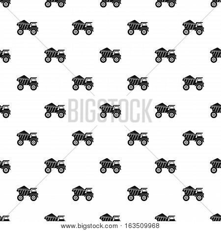Machinery with sand pattern. Simple illustration of machinery with sand vector pattern for web