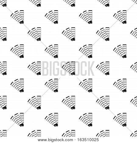 Paper color palette pattern. Simple illustration of paper color palette vector pattern for web