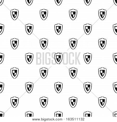 Army shield pattern. Simple illustration of army shield vector pattern for web