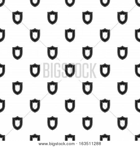 Combat shield pattern. Simple illustration of combat shield vector pattern for web
