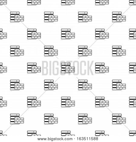 Protection of database systems pattern. Simple illustration of protection of database systems vector pattern for web
