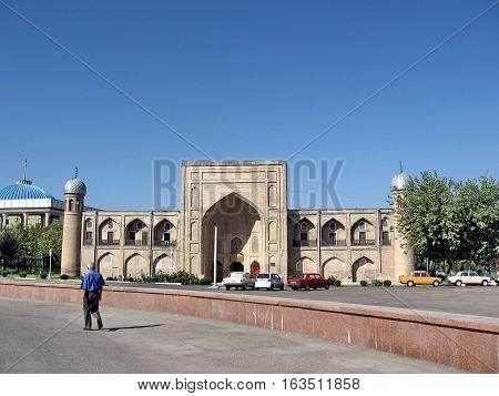 The Almazar Madrassah in Tashkent Uzbekistan September 12 2007