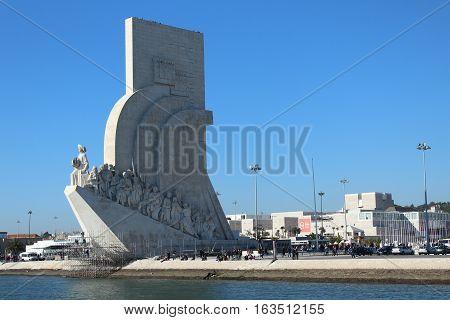 Monument to the Discoveries, Belém's Parish, Lisbon, Portugal