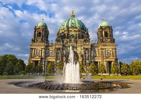 Berlin Cathedral (berliner Dom) In Berlin, Germany