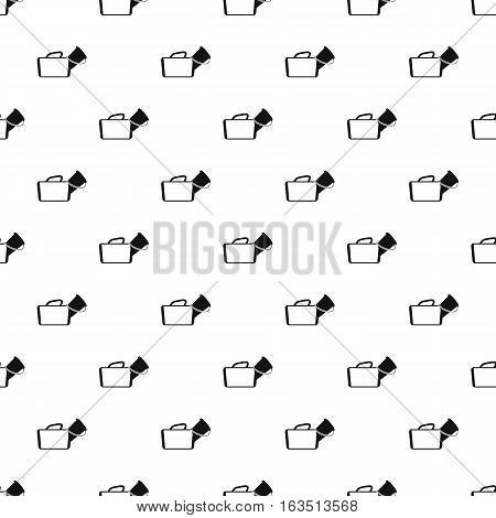 Medical bag pattern. Simple illustration of medical bag vector pattern for web