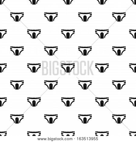 Adult diapers pattern. Simple illustration of adult diapers vector pattern for web