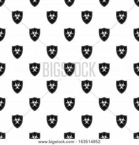Radioactive sign pattern. Simple illustration of radioactive sign vector pattern for web