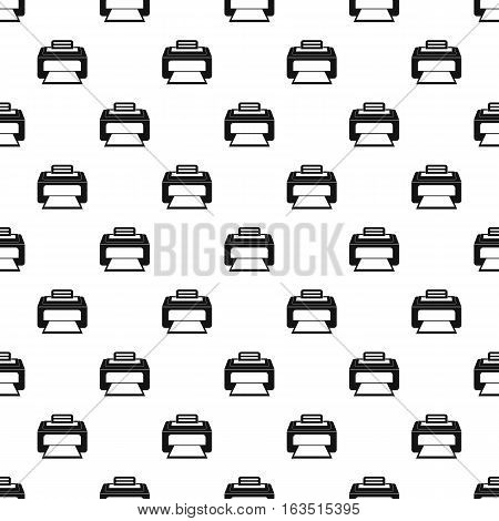 Printer pattern. Simple illustration of printer vector pattern for web