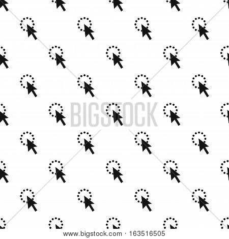 Computer cursor waiting pattern. Simple illustration of computer cursor waiting vector pattern for web