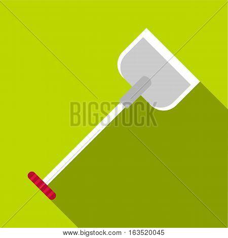 Shovel icon. Flat illustration of shovel vector icon for web