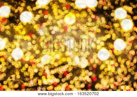 Colourful Spark And Blow Natural Bokeh Background