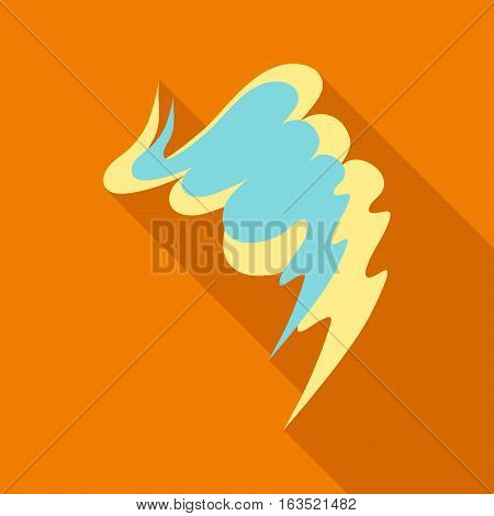 Smear icon. Flat illustration of smear vector icon for web