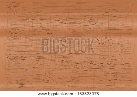 wooden brown that have gnarl line pattern texture background. Vector illustration Eps10