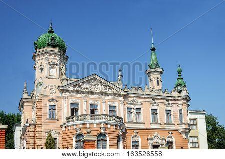 National Museum after Andrey Sheptytsky Primate of the Ukrainian Greek Catholic Church (1900-1944). Lviv Ukraine
