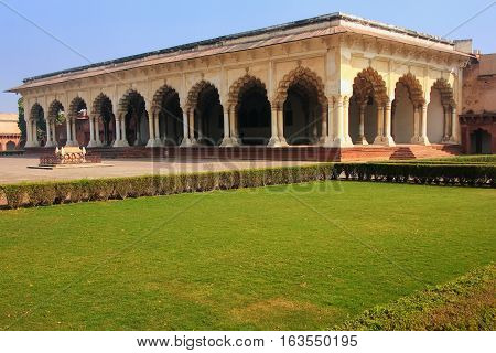 Diwan-i-am - Hall Of Public Audience In Agra Fort, Uttar Pradesh, India