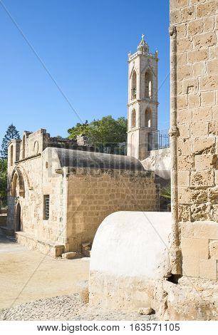 Greece Cyprus Aya Napa the church of the Monastery (14th century)
