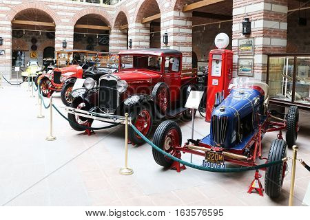 Antique Cars In Ankara Koc Museum