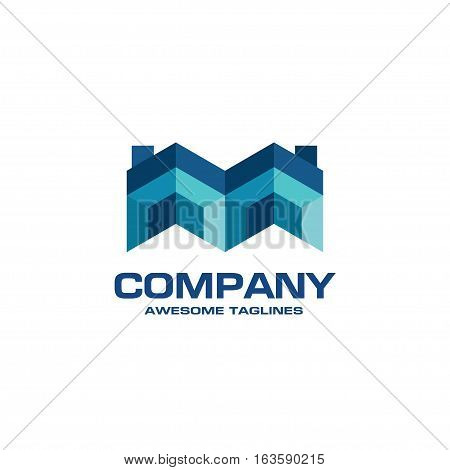 creative Real Estate logo, Property and Construction Logo design  Vector , colorful homes logo concept, neighbor house logo.