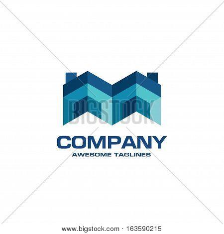 creative Real Estate logo, Property and Construction Logo design  Vector , colorful homes logo concept, neighbor house logo.