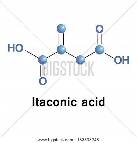Itaconic acid, or methylenesuccinic acid, is an organic compound obtained by the distillation of citric acid. It is a fully sustainable industrial building block.